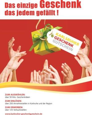 Karlsruher Geschenkgutschein jetzt auch in Ettlingen im Albtal Blumenhaus